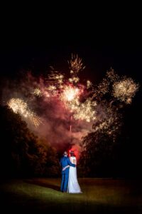 Fireworks Photography in York at The Hawkhills