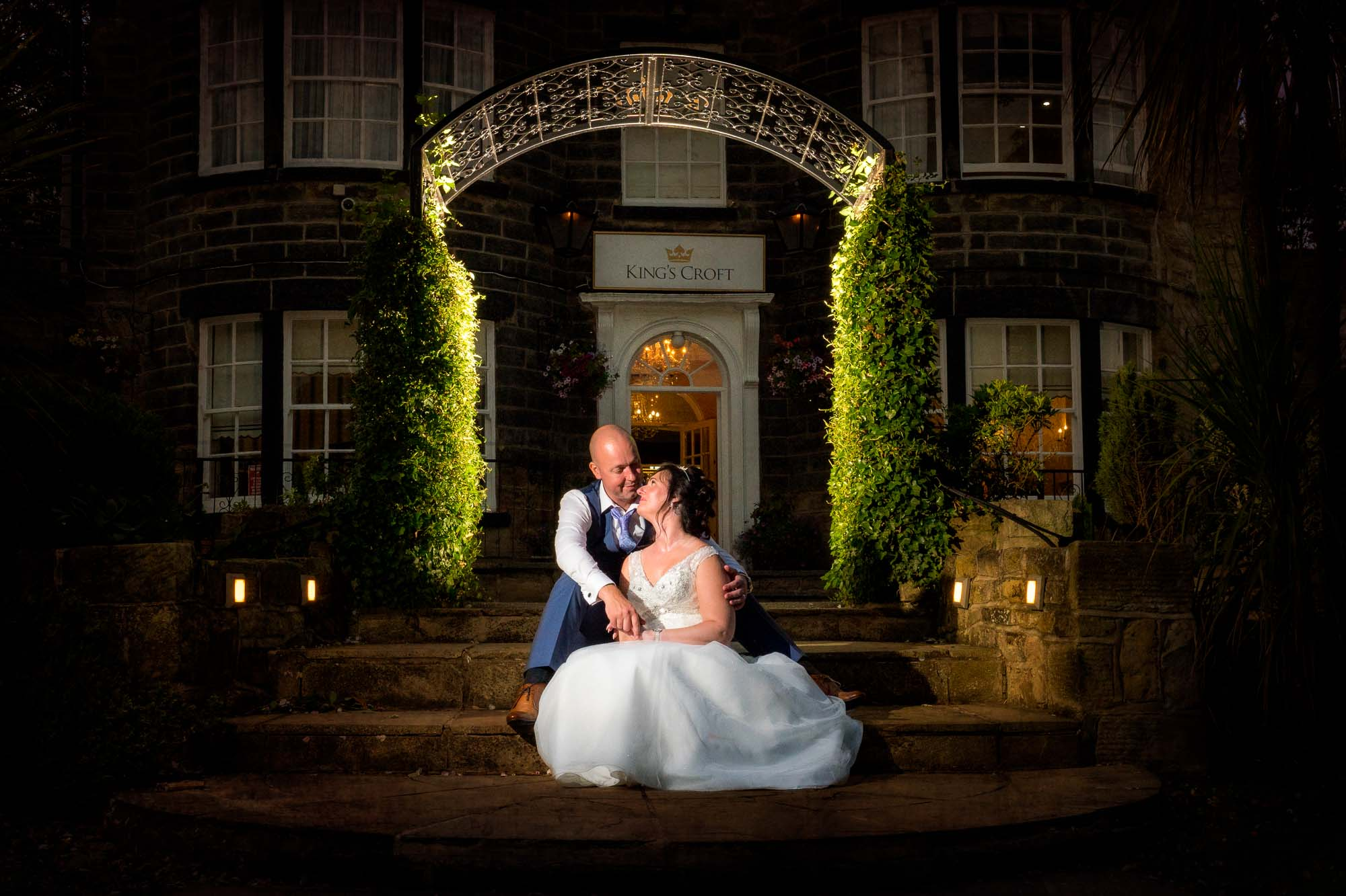 Twilight photographs at Kings Croft Hotel in Pontefract