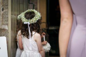 Flower Girl head dress