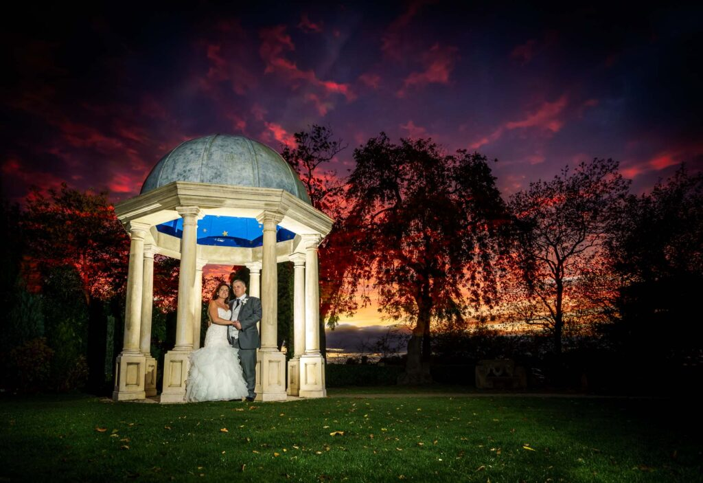 Twilight Photographs at Rogerthorpe Manor Hotel in Pontefract and Wakefield