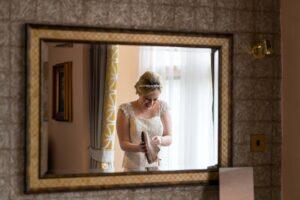 Bridal Preps at Rogerthorpe Manor Hotel in Pontefract