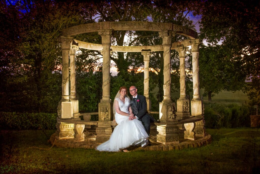 Twilight photographs at Rogerthorpe Manor Hotel In Wakefield