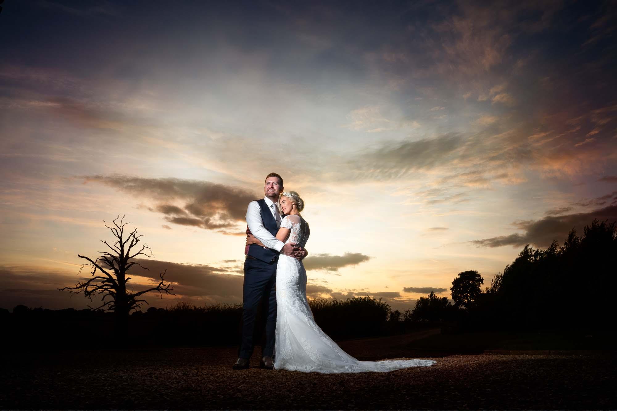 York sunset wedding photography