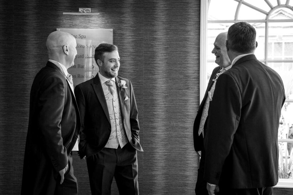 Groomsmen at The Bridge In Leeds