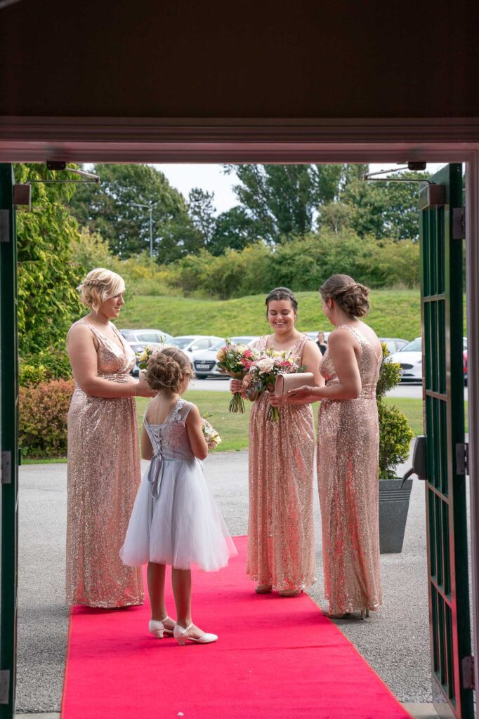 Natural Wedding Photography shots at the Bridge Inn Wetherby