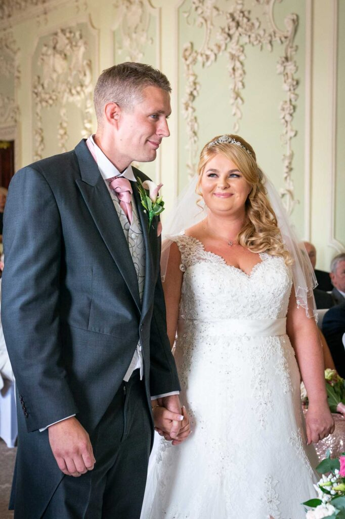 Wedding Ceremony at The Bridge Inn Wetherby