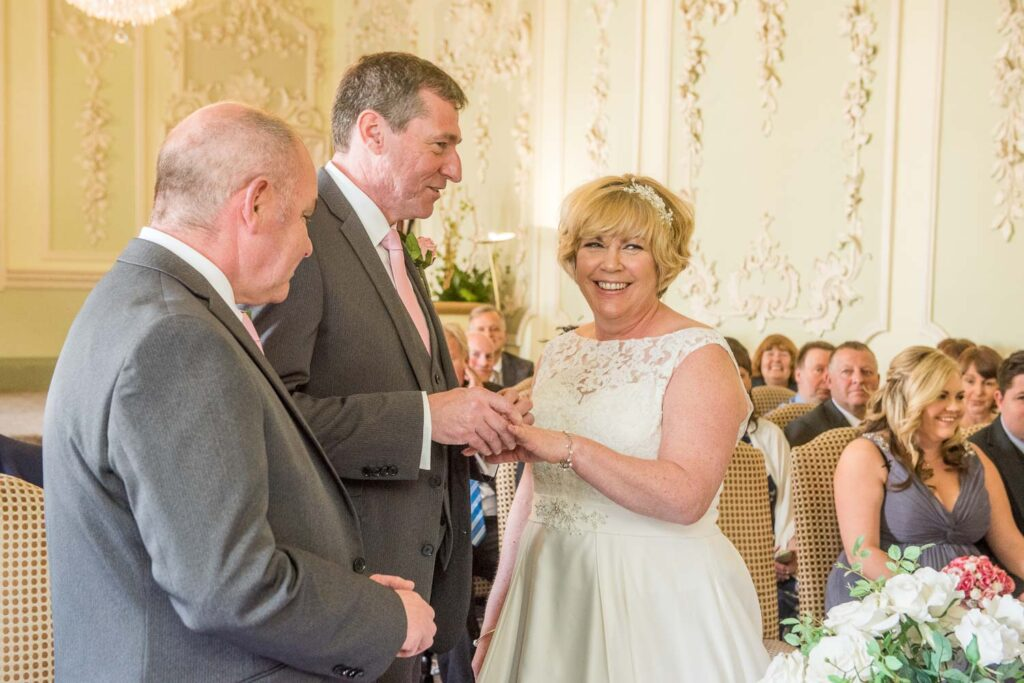 Wedding Ceremony at The Bridge Inn Wetherby
