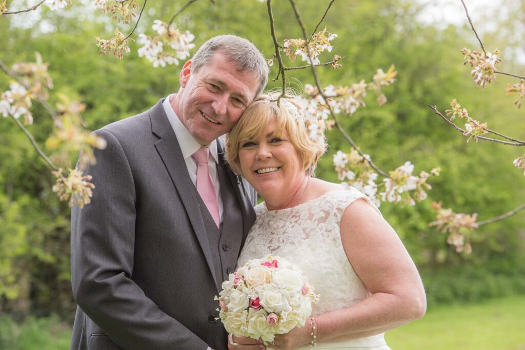 Bride and groom wedding photography at The Bridge Inn at Walshford near Wetherby