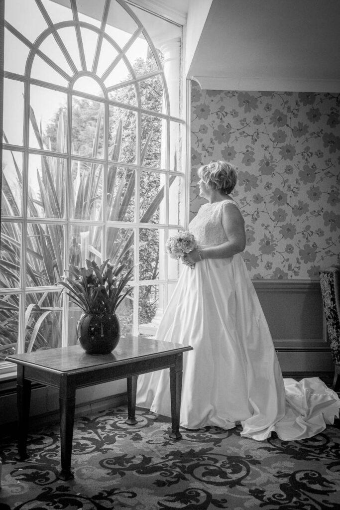 Bridal portrait at The Bridge Inn Wetherby