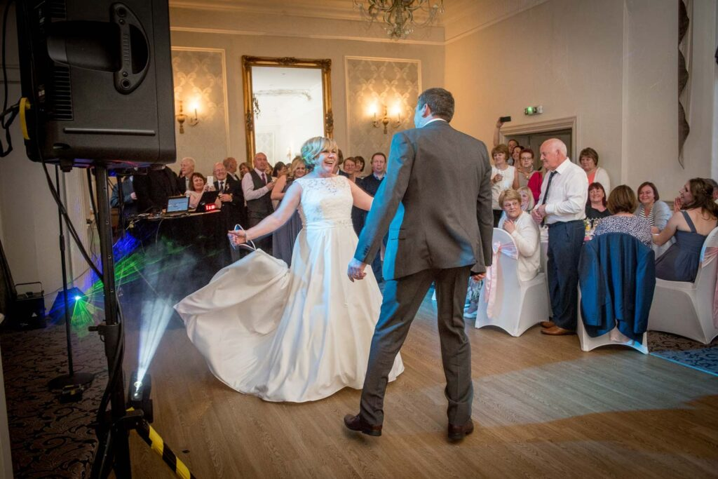 First Dance Photography at The Bridge in Walshford near Wetherby