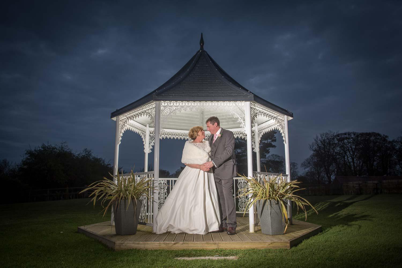 Twilight wedding photography at The Bridge Inn, Wetherby