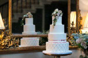 Wedding Cake at Saltmarshe Hall