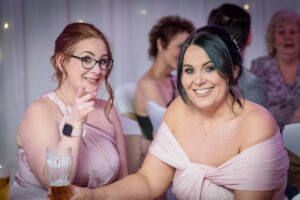Evening Wedding Photography at Thorpe Park in Leeds