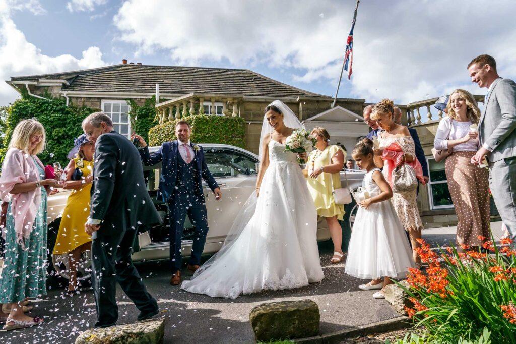 Wedding Details at Wentbridge House Hotel in Pontefract