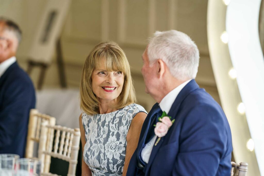 Wedding speeches at Wentbridge House Hotel in Pontefract