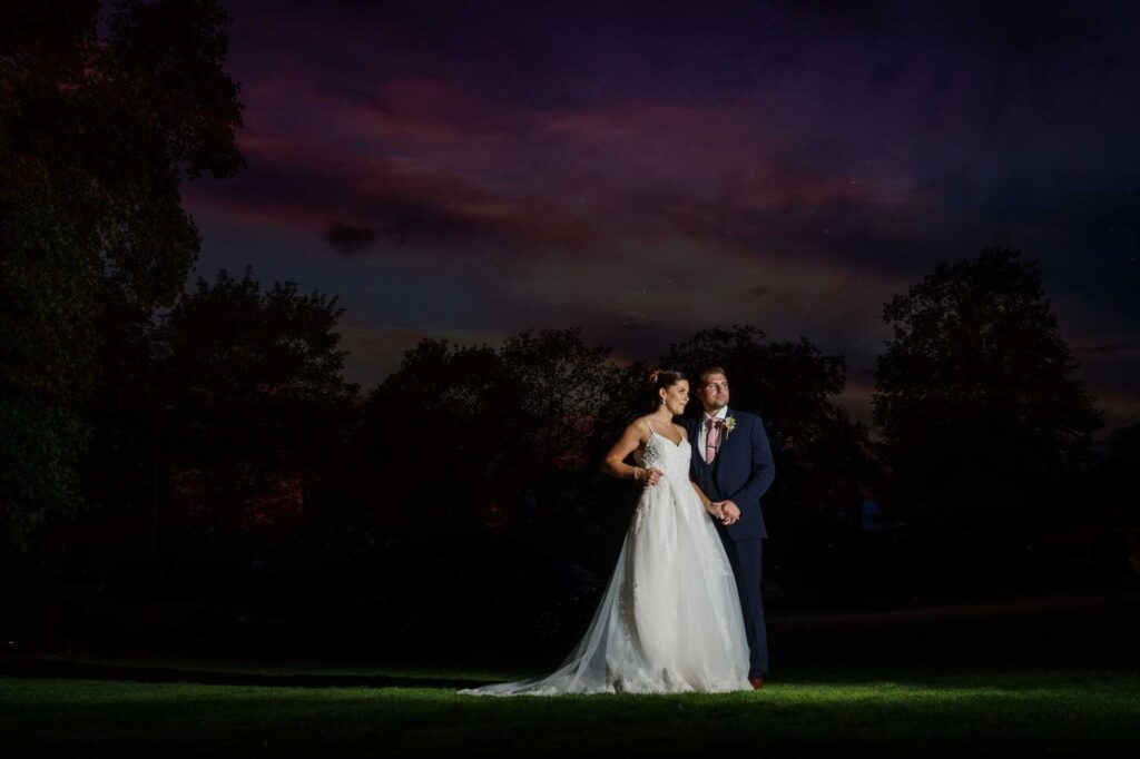 Bride and Groom First Dance at Wentbridge House Hotel in Pontefract
