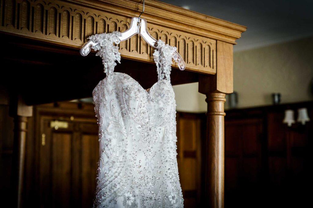 Bridal preps at Wentbridge House Hotel in Pontefract