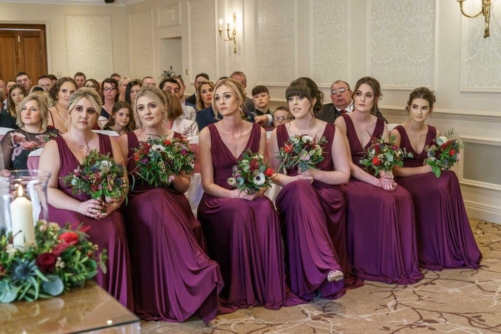 Wedding Ceremony at Wentbridge House Hotel in Pontefract