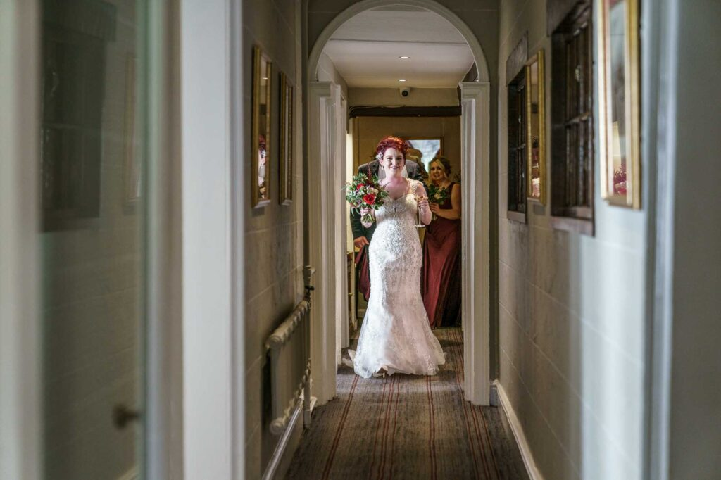 Bride at Wentbridge House Hotel