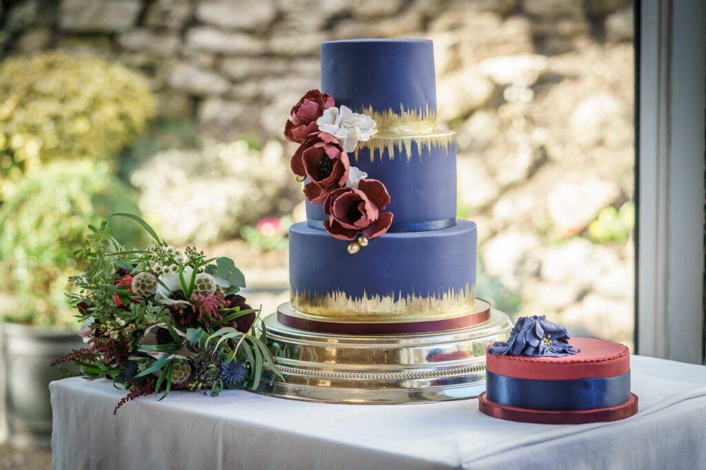 Wedding Cake at Wentbridge House Hotel in Wakefield
