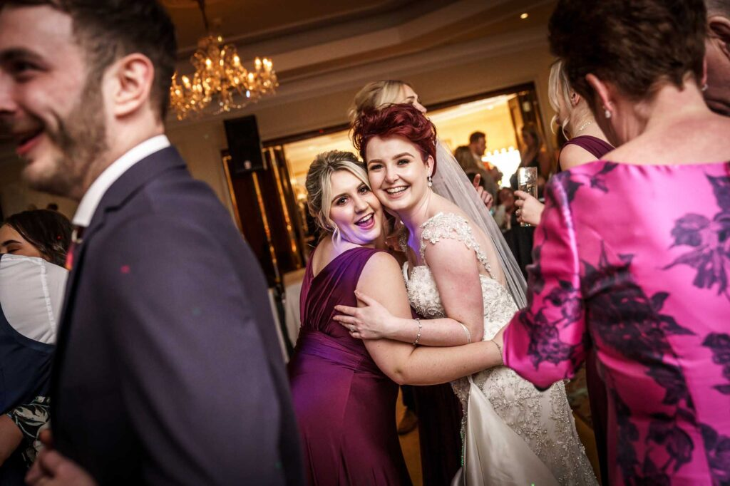 First dance at Wentbridge House Hotel In Wakefield