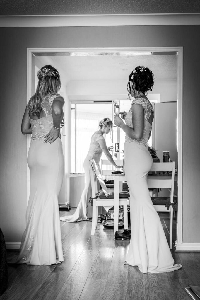 Bridal Preps at Woodlands Hotel in Gildersome near Leeds