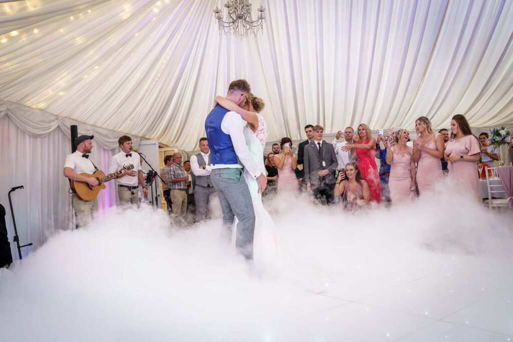 First dance photographs at Woodlands Hotel in Gildersome near Leeds