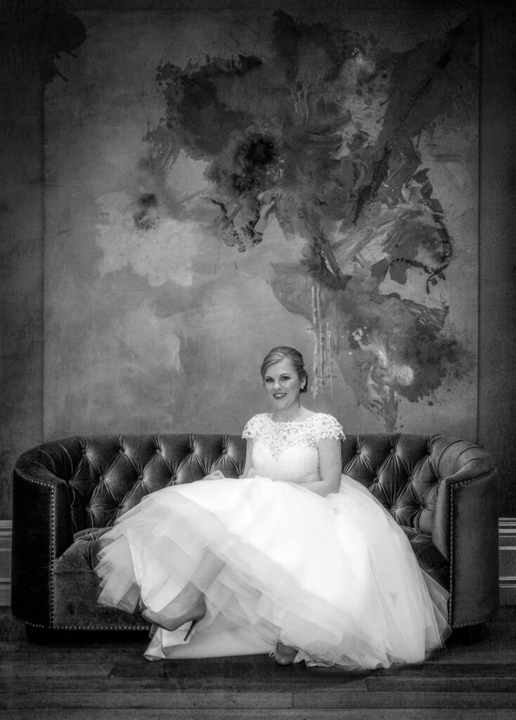 Bridal wedding photography at Woodlands Hotel in Gildersome near Leeds