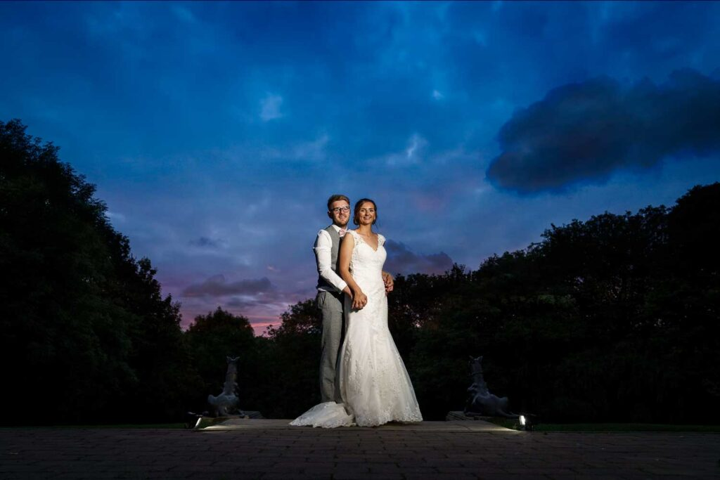 Twilight photographs at The Woodlands Hotel in Gildersome