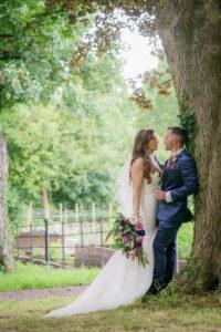 Goldsborough Hall Wedding Photography Bride and Groom Photograph