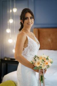Bridal Portrait at The Bridge Inn
