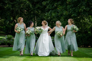 Bridesmaids at Wentbridge House Hotel
